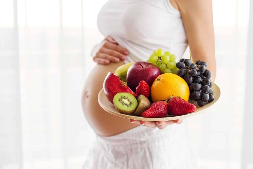 quedar embarazada alimentación saludable
