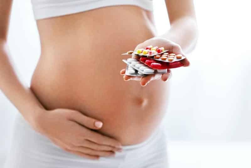 vitaminas prenatales embarazo